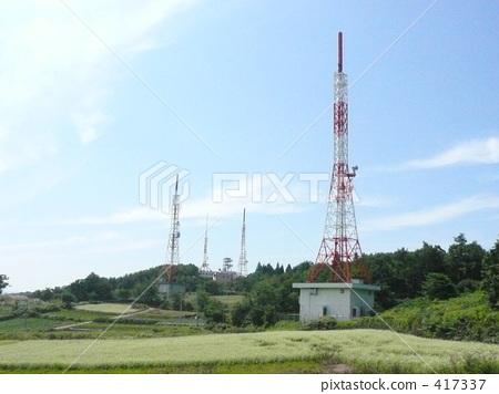 天线杆 无线电塔 天