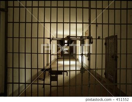 犯罪 监狱 大门-图片素材 [451552] - pixta