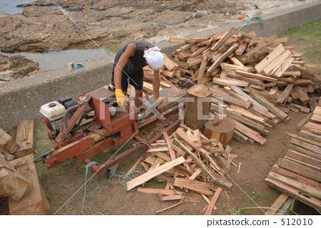 伐木场 轮岛市 石川