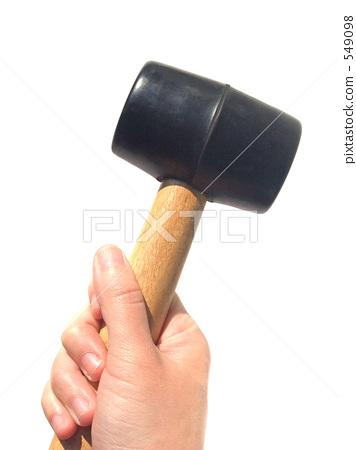 木质斧头马克笔手绘