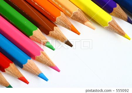 书写工具 彩色铅笔 杂物