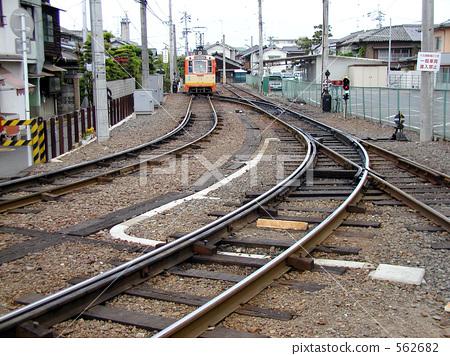 轨道 伊予铁道 扶手