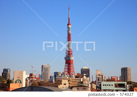 东京 东京塔 东京铁塔