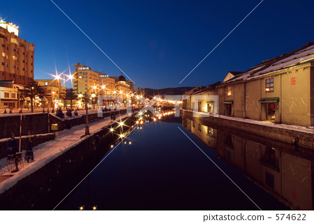 minamiotaru_stock photo: otaru canal