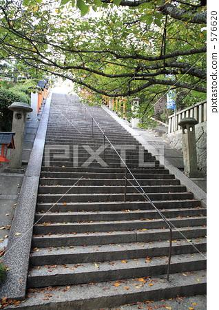 照片素材(图片): 尾道 石阶 楼梯