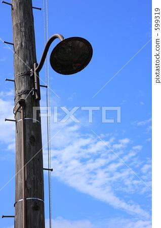 交通信号灯 路灯