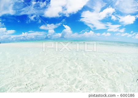 图库照片: 海滩 楚克 吉普岛