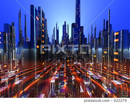 未来都市 622279