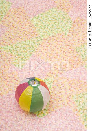 纸气球 日本纸和彩色图表