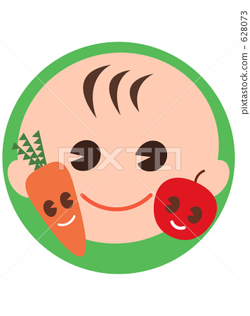 儿童 动物宝宝 野菜