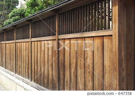 木板栅栏 木篱笆 木制