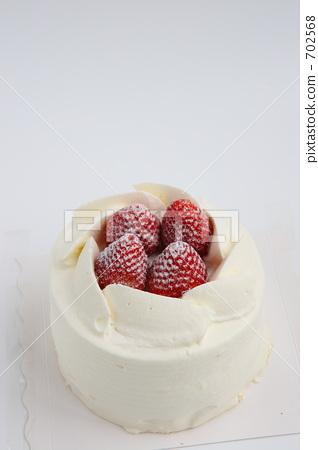 白色 西式甜点 蛋糕-图库照片 [702568] - pixta图片