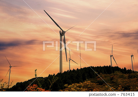 风能 风力涡轮机 风车