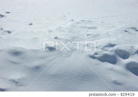 积雪 要素 雪花-图片素材 [829419] - pixta