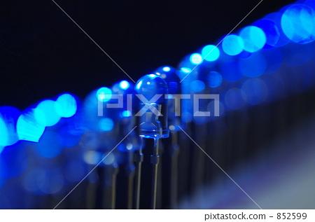 蓝色发光二极管 光二极体 led灯