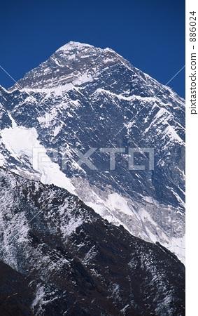 照片素材(图片): 珠穆朗玛峰 圣母峰 喜马拉雅山