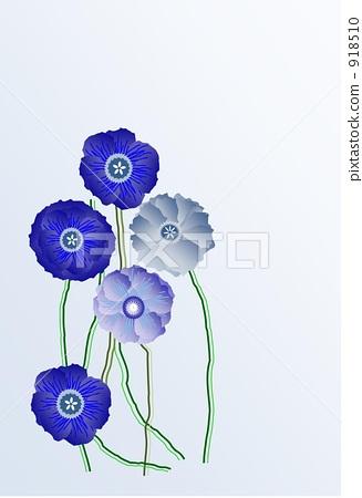 插图素材: 花朵 花 花卉
