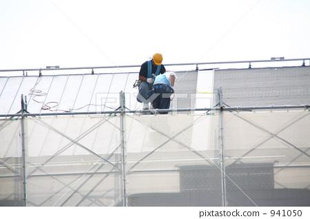 屋面施工 房顶 基础-图片素材 [941050] - pixta