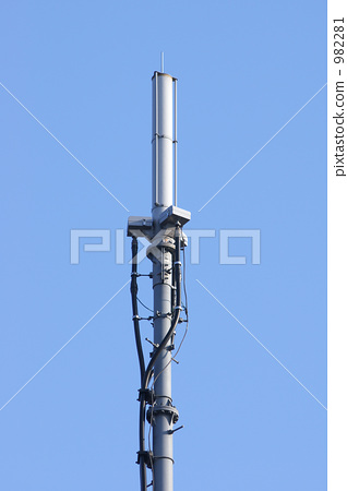 空调外机通信基站矢量图