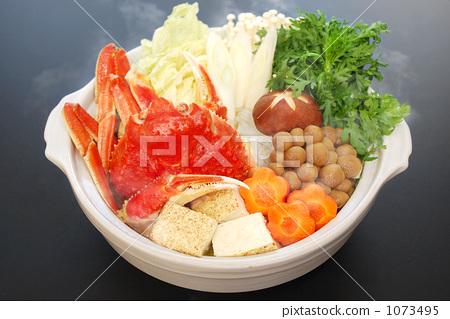 图库照片: 蟹料理 蟹盘 螃蟹火锅