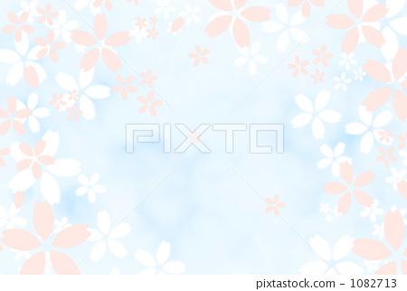 花朵 春天 插图