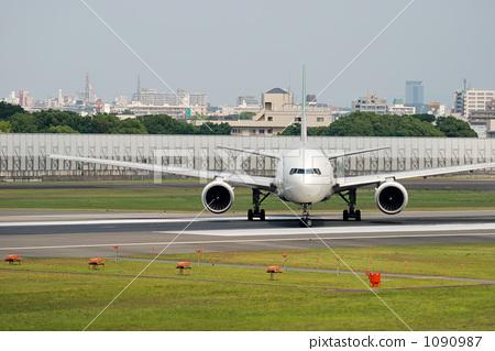 跑道 伊丹机场 飞机