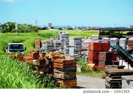 木材 柴堆 建筑材料