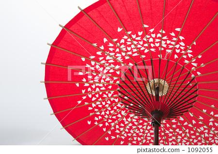 休闲_爱好_游戏 户外 滑翔伞 滑油纸伞 日本伞 伞  *pixta限定素材仅