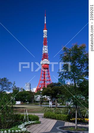 东京铁塔 芝公园 东京塔