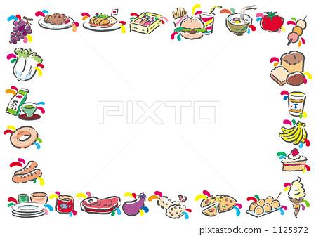 框架 帧 边框 首页 插图 业种_产业 制造业_工业 食物 框架 帧 边框