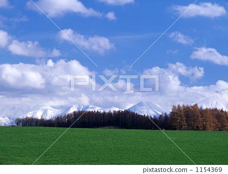 照片素材(图片): 田园 田园风景 天空