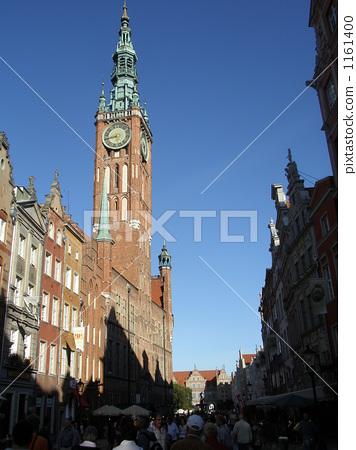 图库照片: 波兰共和国,格但斯克风景