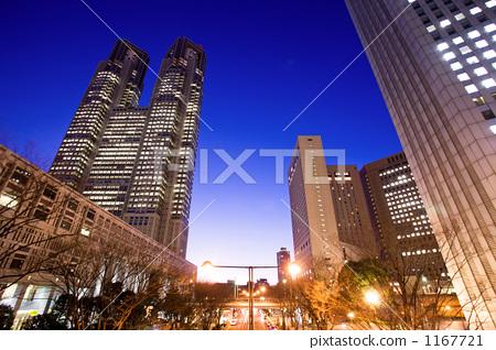 照片素材(图片): 东京国会大厦 高层建筑 高层