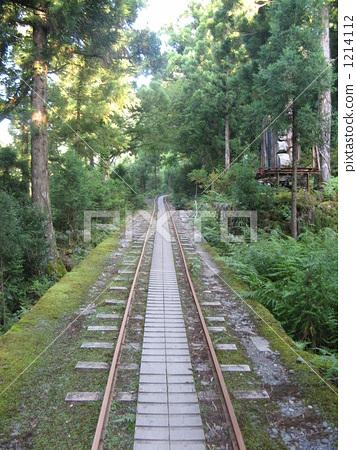铁路 轨道车 踪迹