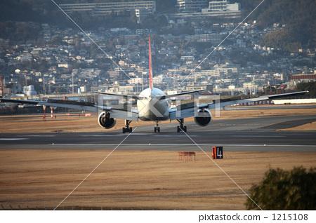 飞机 大阪国际机场 伊丹机场