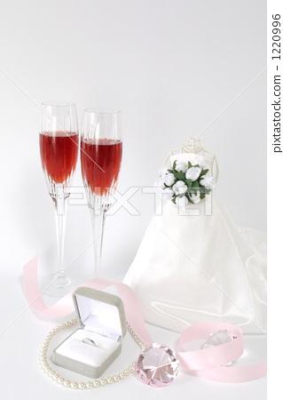 结婚礼服 装饰品 结婚了的