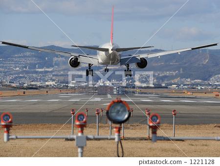 伊丹机场 跑道 飞机