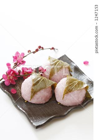 照片 生活方式_生活 餐 点心 甜点 甜品 樱花年糕  *pixta限定素材仅