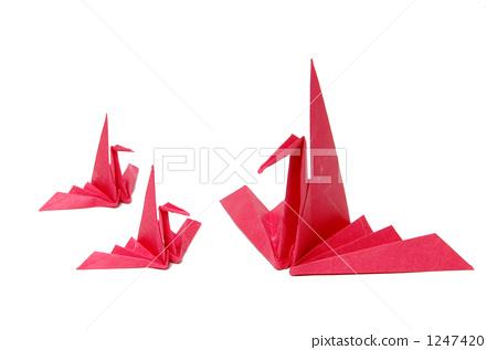 图库照片: 折纸 纸鹤 喜庆活动