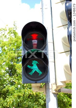 交通信号 红绿灯 交通灯