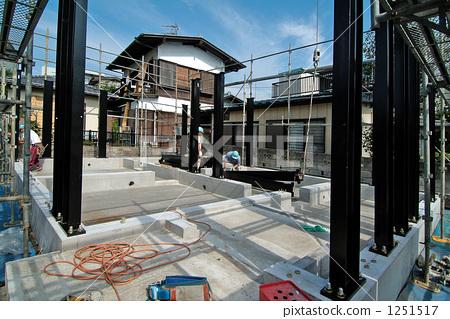 钢框架 结构 新建筑