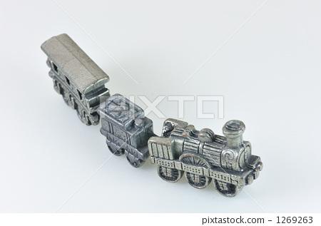 玩具 机车 火车头-图库照片