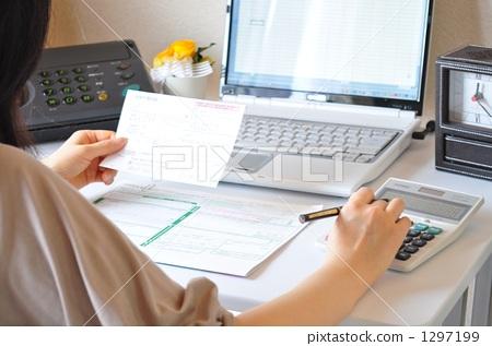 照片素材(图片): 商业场景 商务场景 文书工作