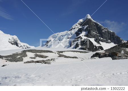 图库照片: 风景 雪 下雪的