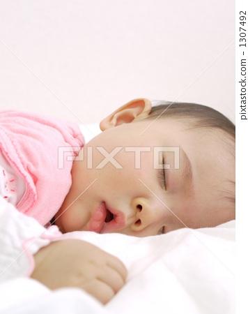 婴儿 动物宝宝 女婴
