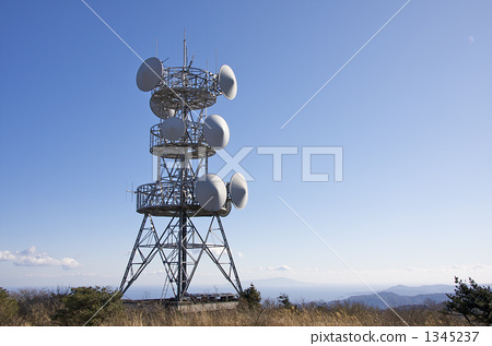 天线 无线电波 电磁波-图库照片