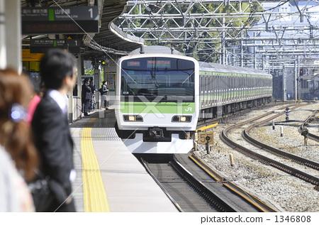 铁路 原宿站 山手线