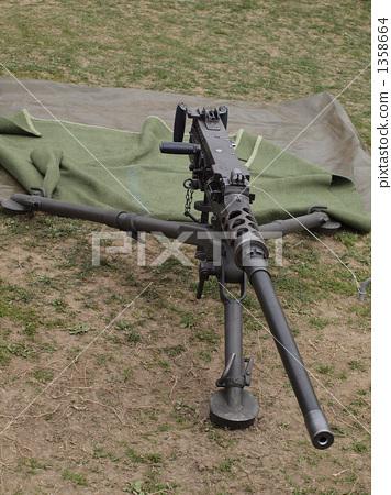 照片 机关枪 武器  *pixta限定素材仅在pixta网站,或pixta合作网站上