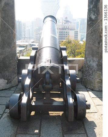 照片素材(图片): 炮台 澳门