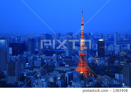 东京铁塔 东京塔 天线杆
